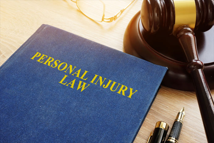gavel and personal injury law